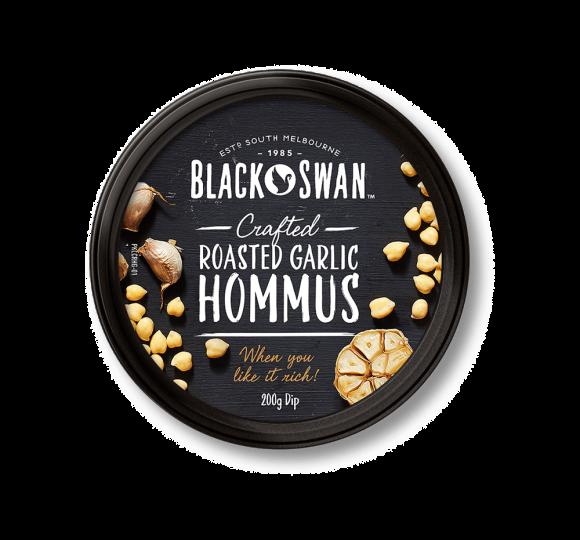 Roasted Garlic Hommus